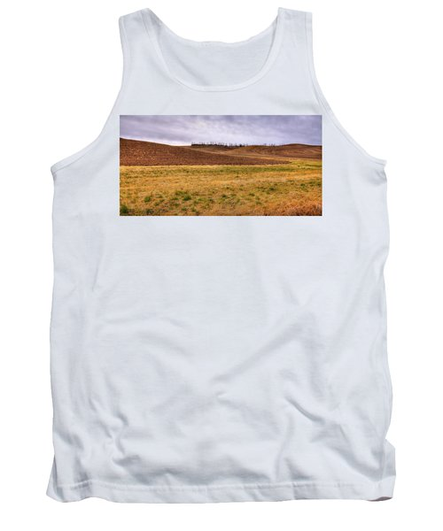 Tank Top featuring the photograph Palouse Farmland by David Patterson
