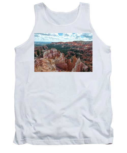 Panorama  From The Rim, Bryce Canyon  Tank Top