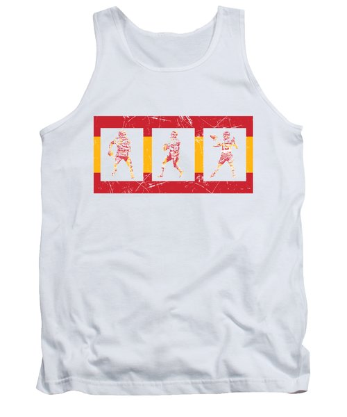 Patrick Mahomes Kansas City Chiefs Pixel Art T Shirt 10 Tank Top