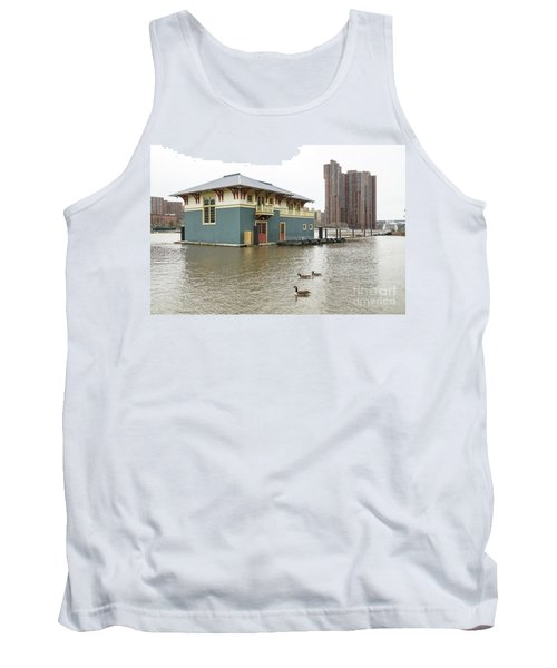 Tank Top featuring the photograph Peter Jay Sharp Boathouse by Cole Thompson