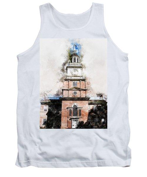 Philadelphia Independence Hall - 01 Tank Top