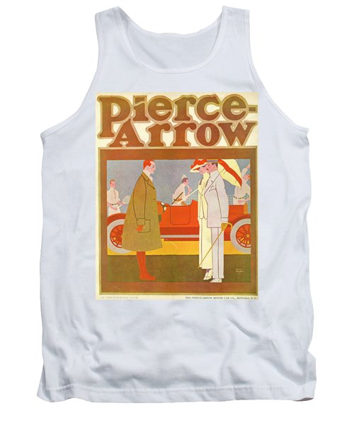 Pierce-arrow Advertisement Tank Top