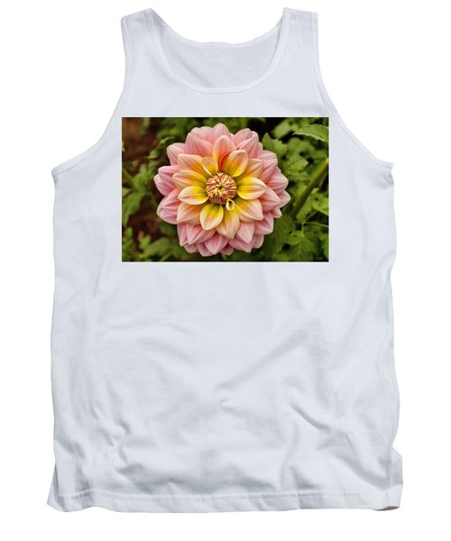 Pink And Yellow Tank Top