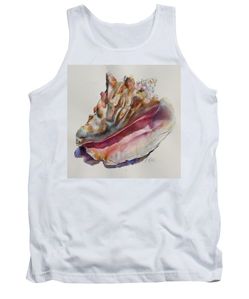 Queen Conch Shell Tank Top