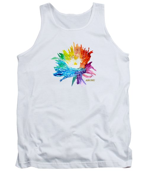 Rainbow Chrysanthemum Tank Top