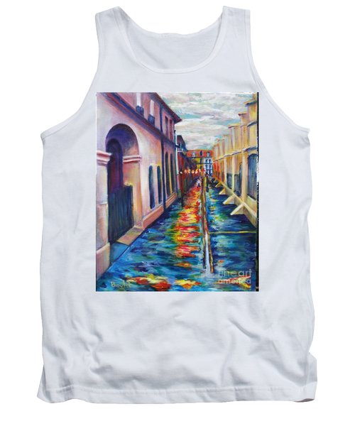 Rainy Pirate Alley Tank Top