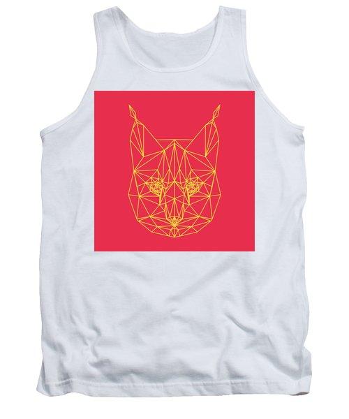 Red Bobcat Tank Top