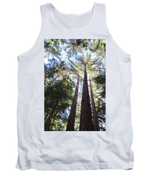 Redwoods, Blue Sky Tank Top