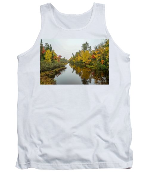 Reflections In Autumn Tank Top