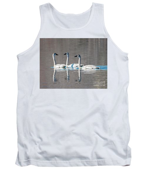 Reflections Of Three Tank Top