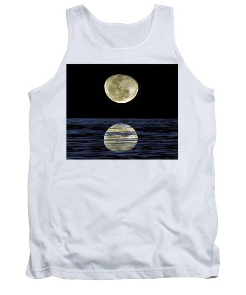 Reflective Moon Tank Top