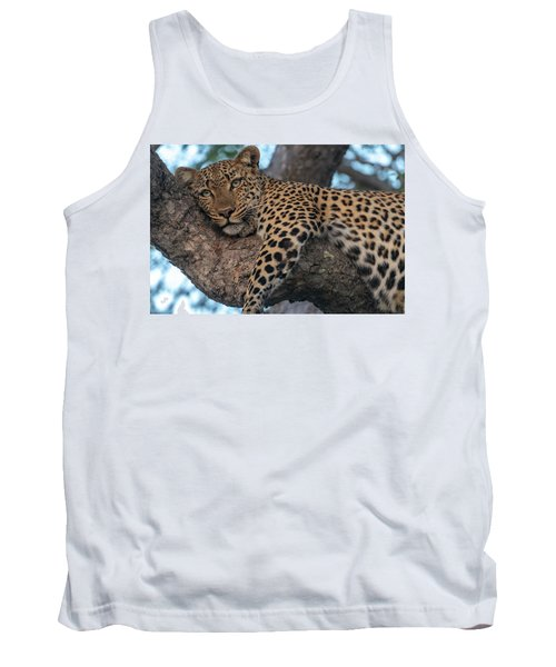 Relaxed Leopard Tank Top