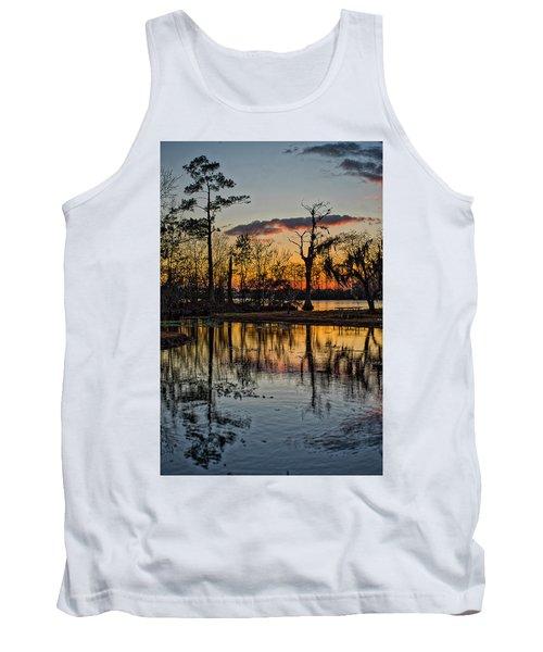 Riverside Sunset Tank Top