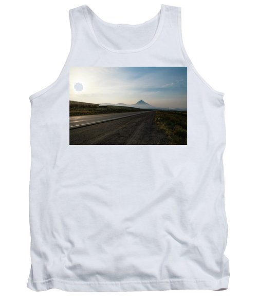 Road Through The Rockies Tank Top