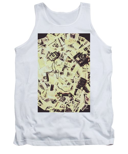 Round Trips Tank Top