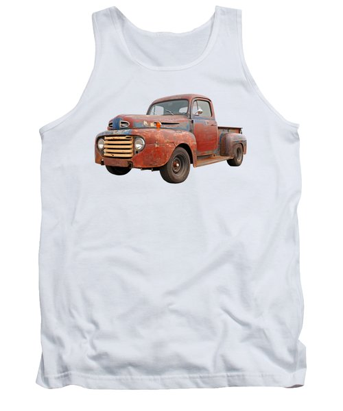 Rusty Ford Farm Truck Tank Top