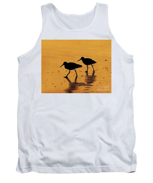 Sandpipers - At - Sunrise Tank Top