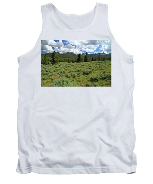 Sawtooth Range Crooked Creek Tank Top