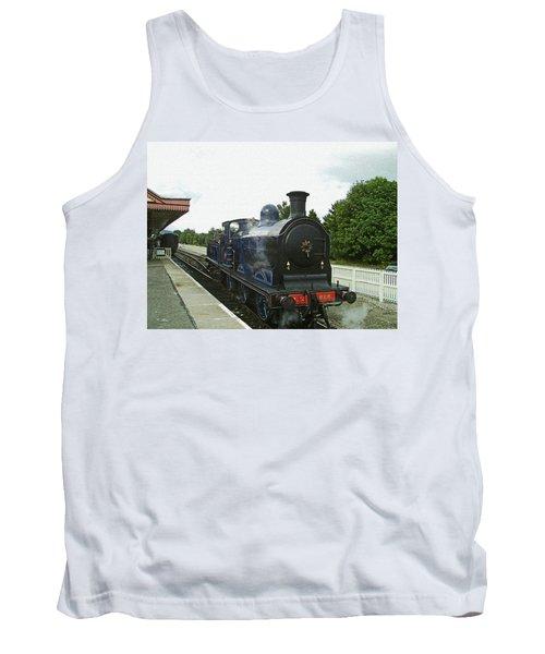 Scotland. Aviemore. Strathspey Railway. Tank Top
