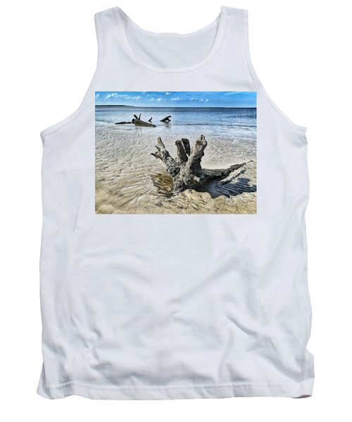 Sculpted By The Sea Tank Top
