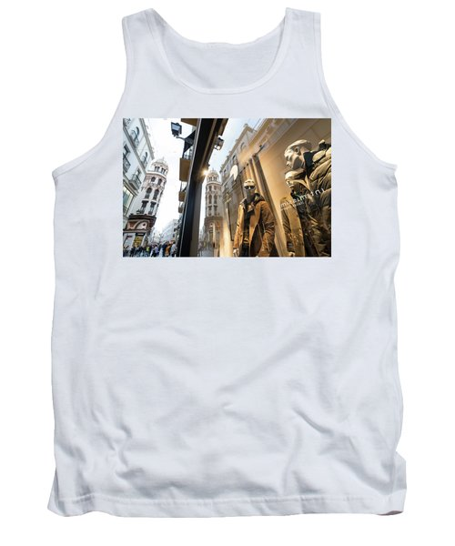 Tank Top featuring the photograph Sevilla Streets by Alex Lapidus