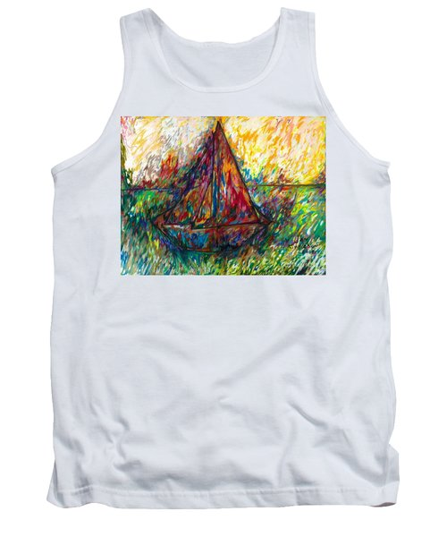 Ship In Color Tank Top
