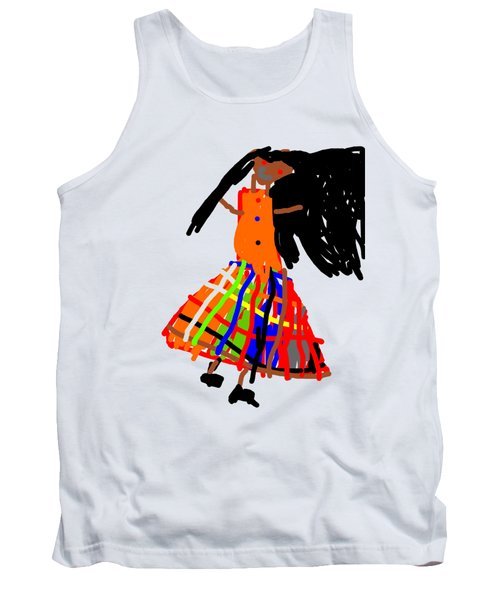 Skirt Of Many Colors Tank Top