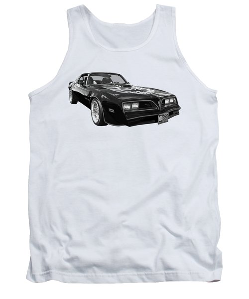 Smokey And The Bandit Trans Am In Mono Tank Top