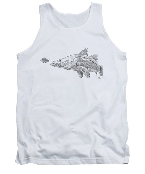 Snook On The Hunt Tank Top