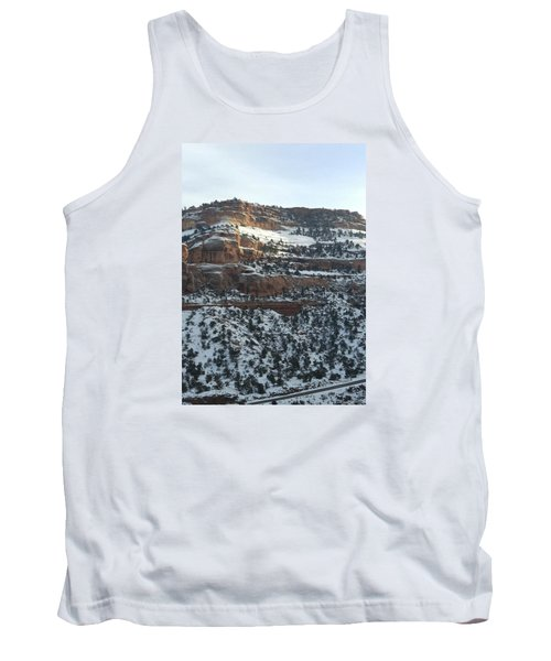 Snow Steps Tank Top