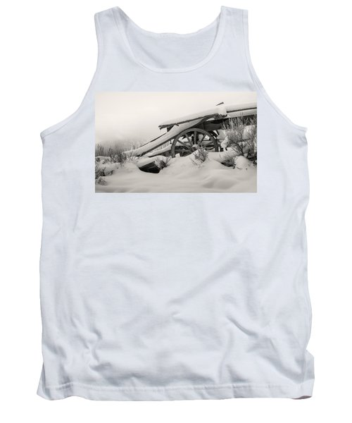 Snowy Rollback Through Time Tank Top
