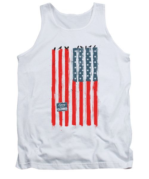 Sorry We're Closed Tank Top
