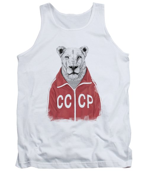 Soviet Lion Tank Top
