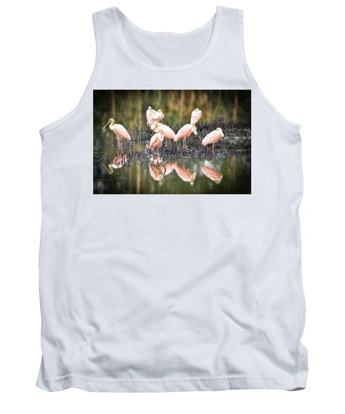 Spoonbill Reflection Tank Top