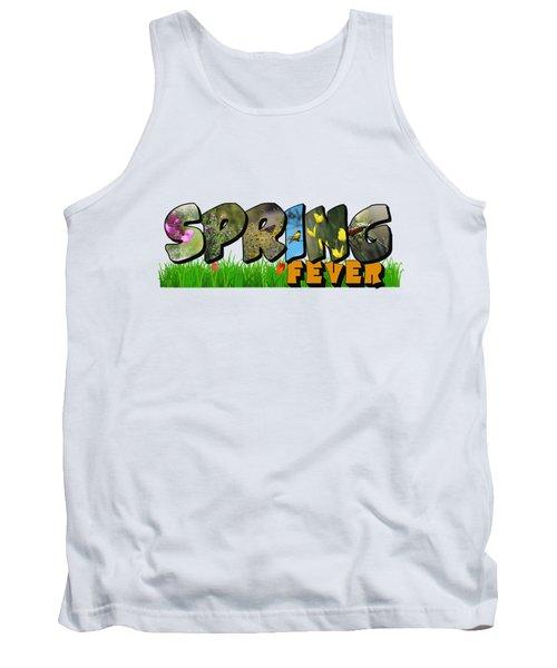 Spring Fever Big Letter Tank Top