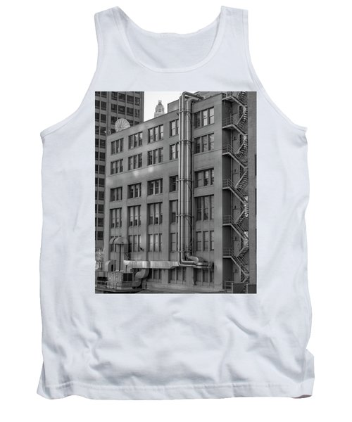 Squares And Lines Tank Top