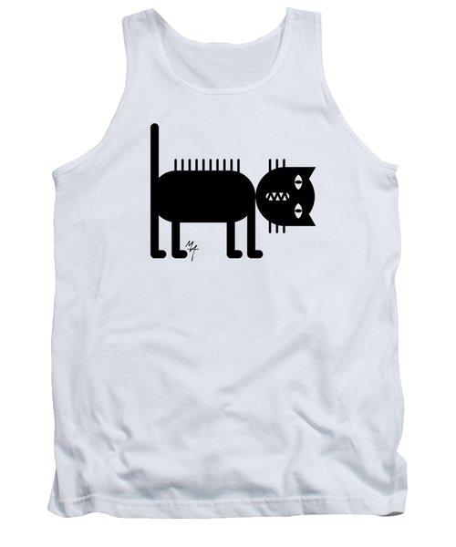 Standing Cat Tank Top