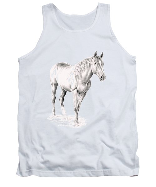 Standing Racehorse Tank Top