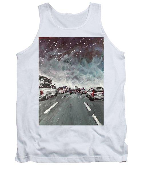 Starry Night Traffic Tank Top