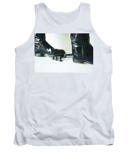 Studio. Boots And Boot Pull. Tank Top