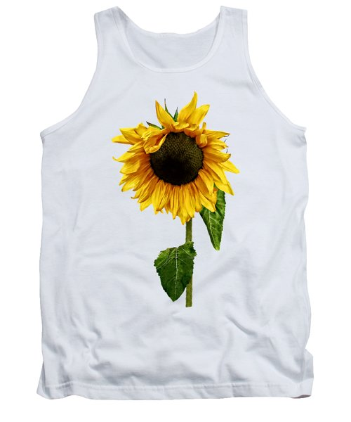 Sunflower With Peakaboo Bangs Tank Top