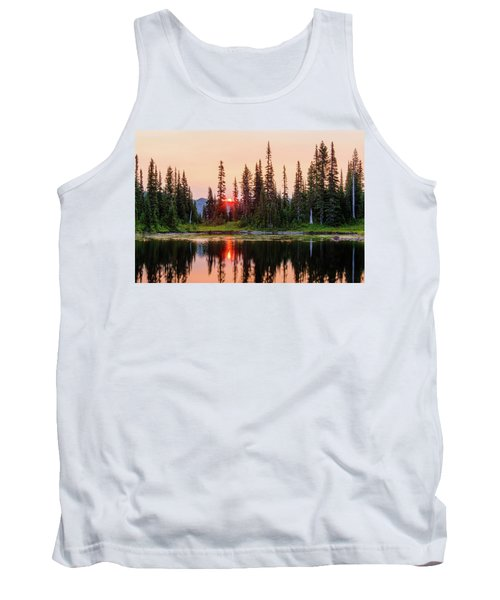 Sunrise From The Reflection Lake Tank Top