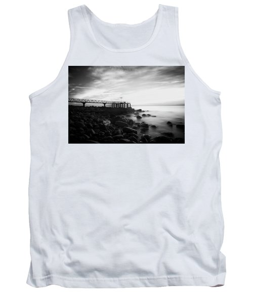 Sunrise In Black And White Tank Top