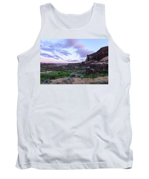 Sunrise In The Ancient Lakes Tank Top