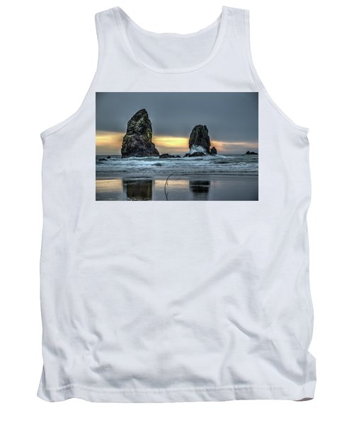 Sunset At The Canon Beach Tank Top
