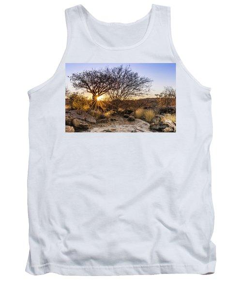 Sunset In The Erongo Bush Tank Top