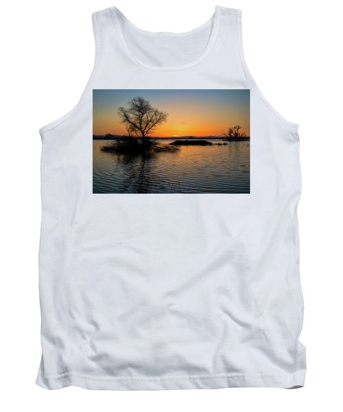 Sunset In The Refuge Tank Top