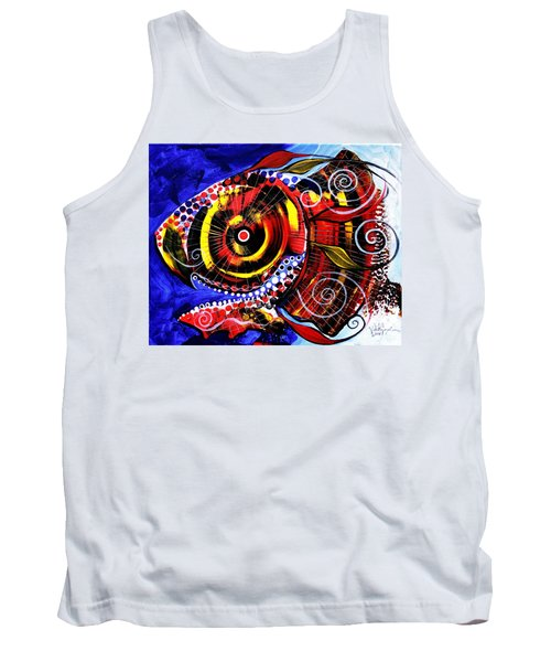 Swollen, Red Cavity Fish Tank Top