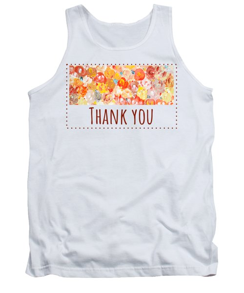 Thank You #2 Tank Top
