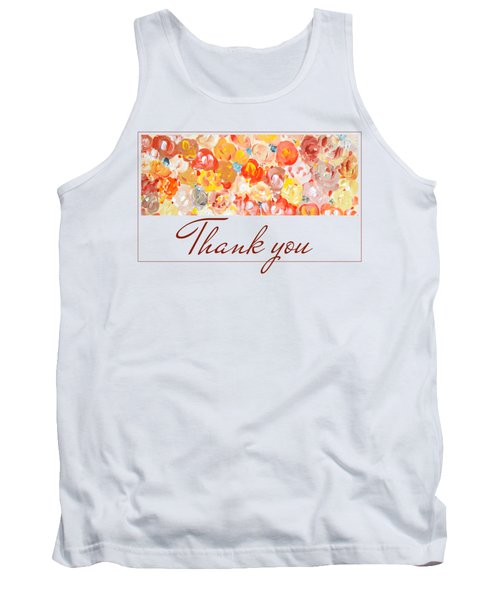 Thank You #3 Tank Top